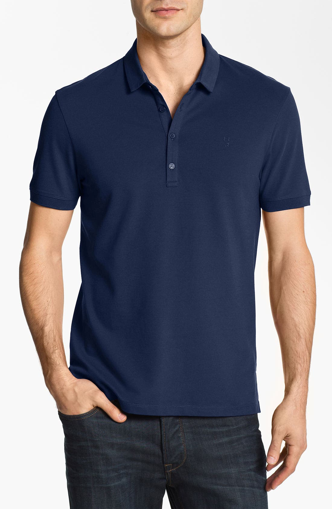 Alternate Image 1 Selected - HUGO 'Dolon' Slim Fit Polo