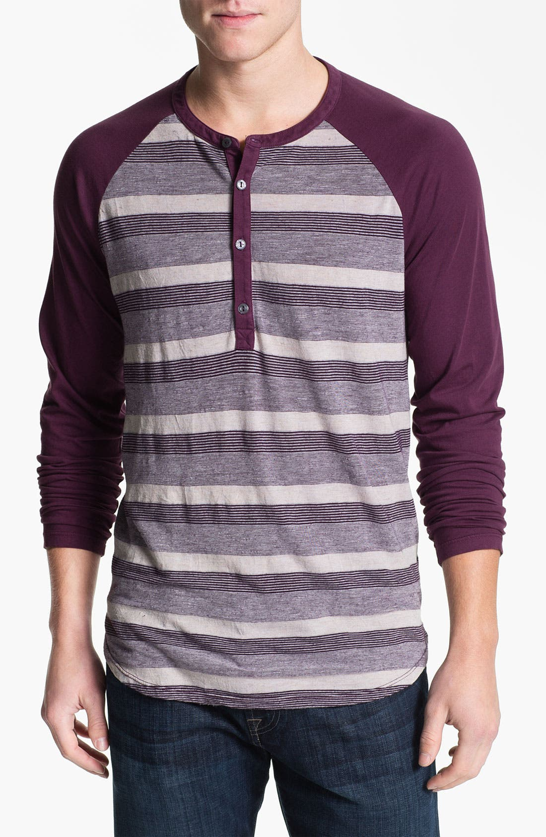 Alternate Image 1 Selected - Splendid Mills 'Raf' Stripe Henley
