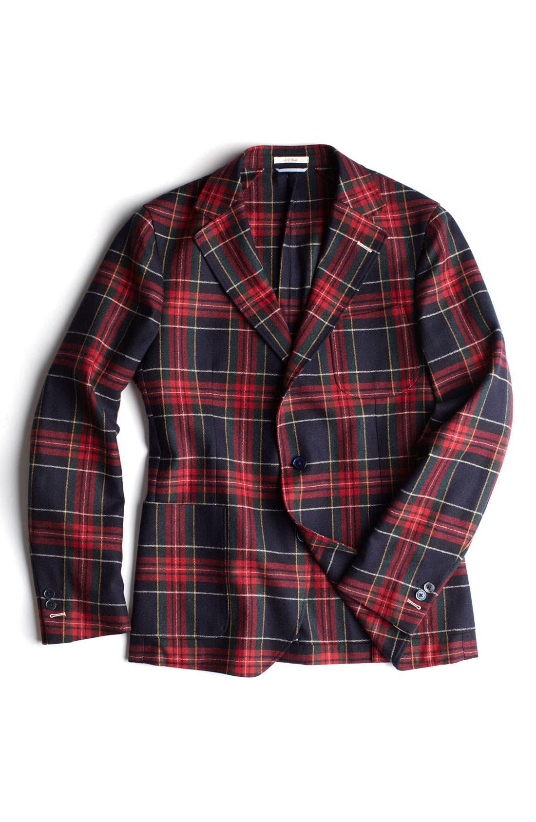 Alternate Image 3  - Gant Rugger Tartan Plaid Sportcoat