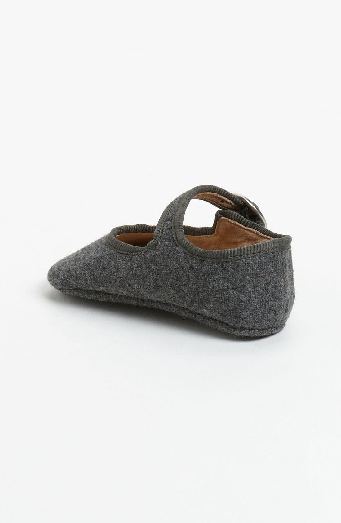 Alternate Image 2  - Peek 'Baby Poet' Crib Shoe (Baby)