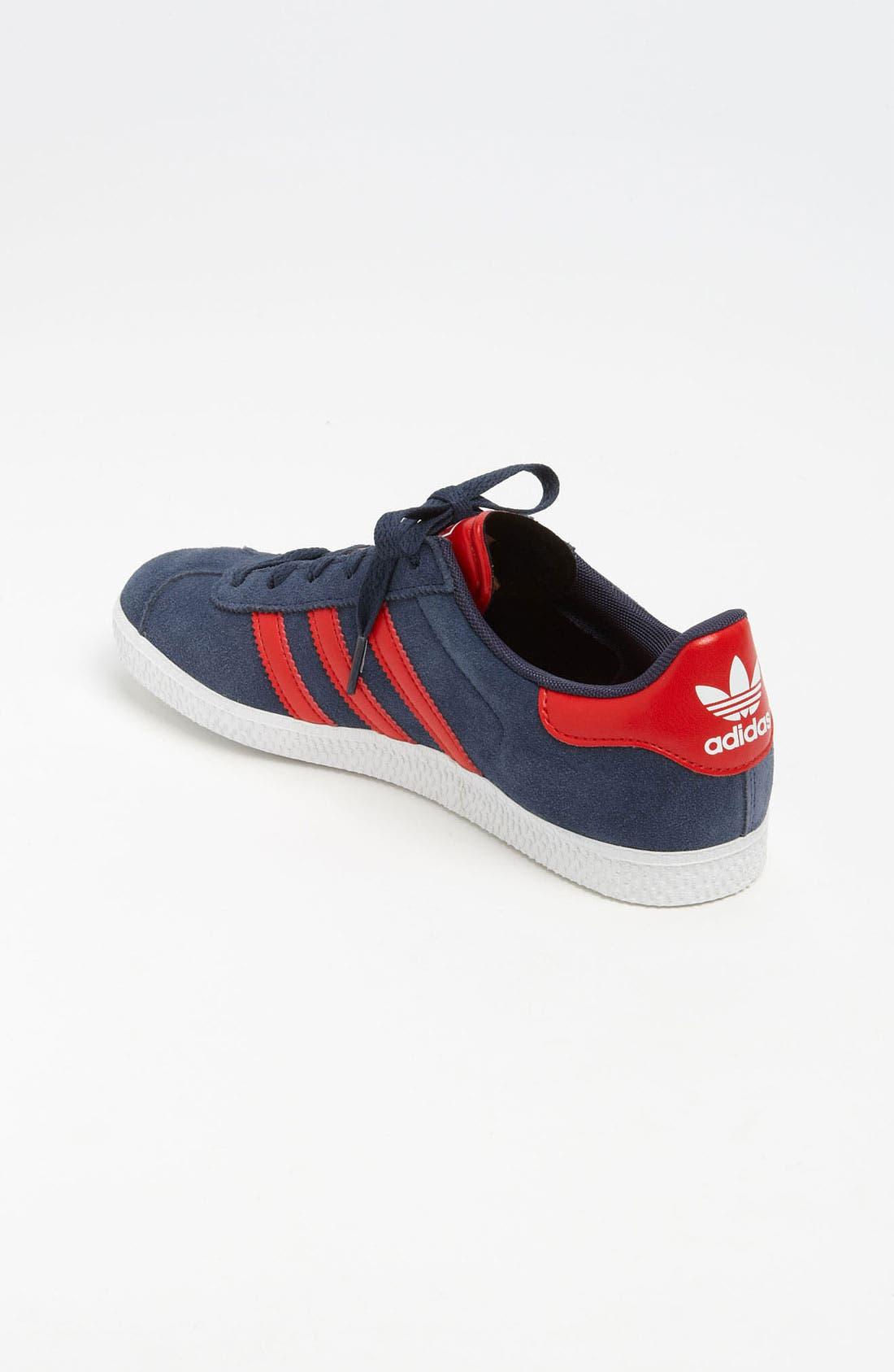 Alternate Image 2  - adidas 'Gazelle 2' Sneaker (Toddler, Little Kid & Big Kid)
