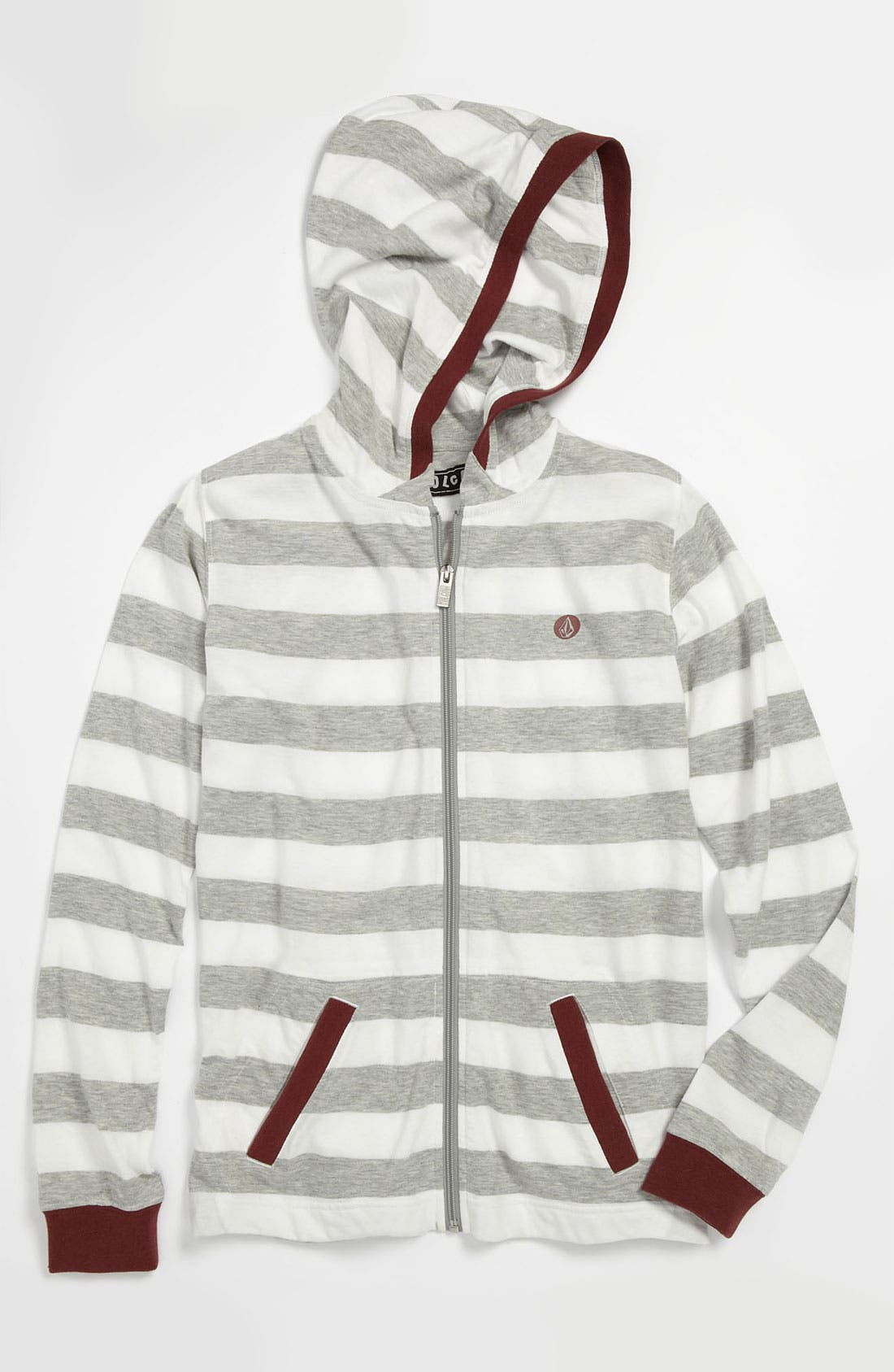 Alternate Image 1 Selected - Volcom 'Other Circle' Hoodie (Big Boys)
