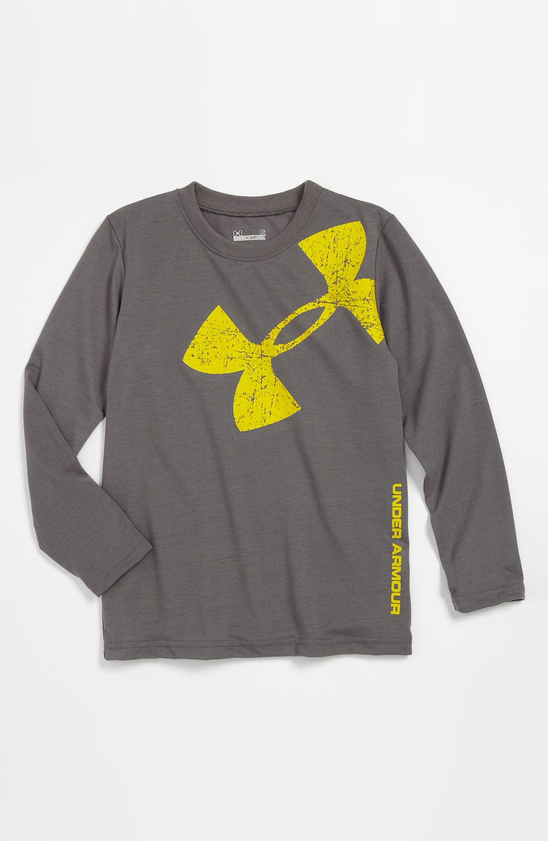 Main Image - Under Armour 'Big Icon' All Season Gear® T-Shirt (Little Boys)