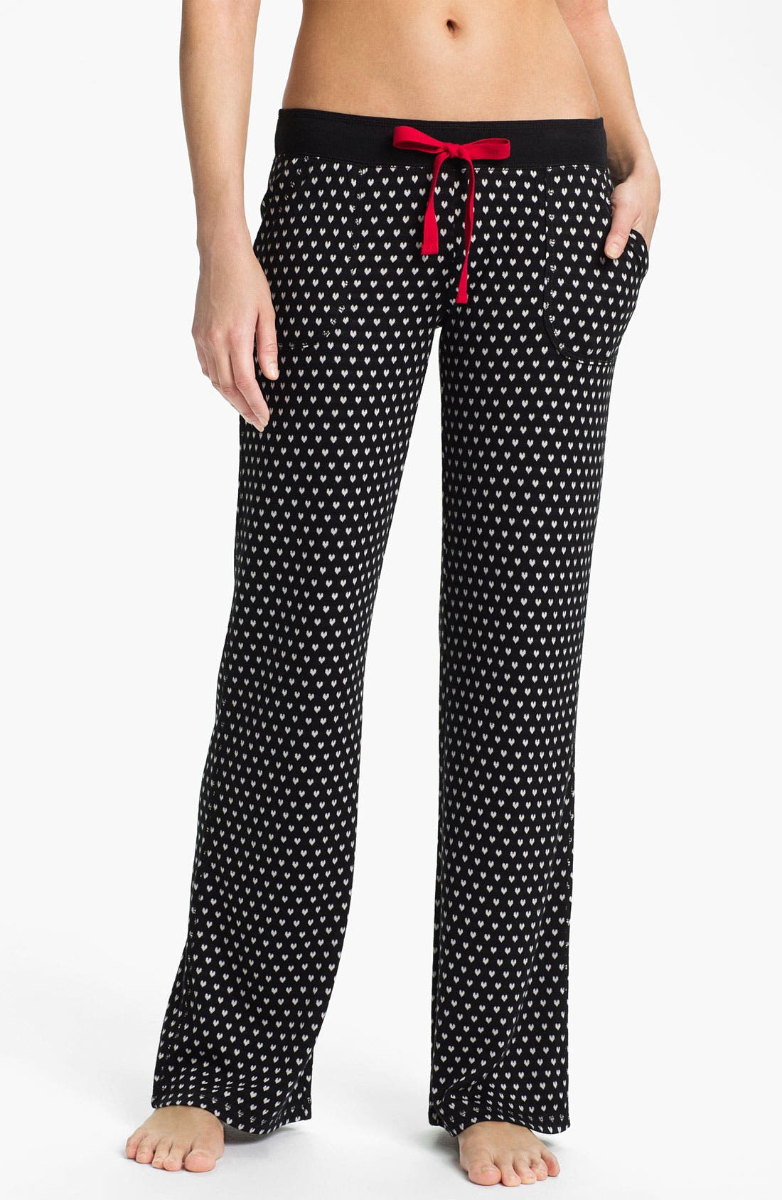 Alternate Image 1 Selected - PJ Salvage 'Forever & Always' Knit Lounge Pants