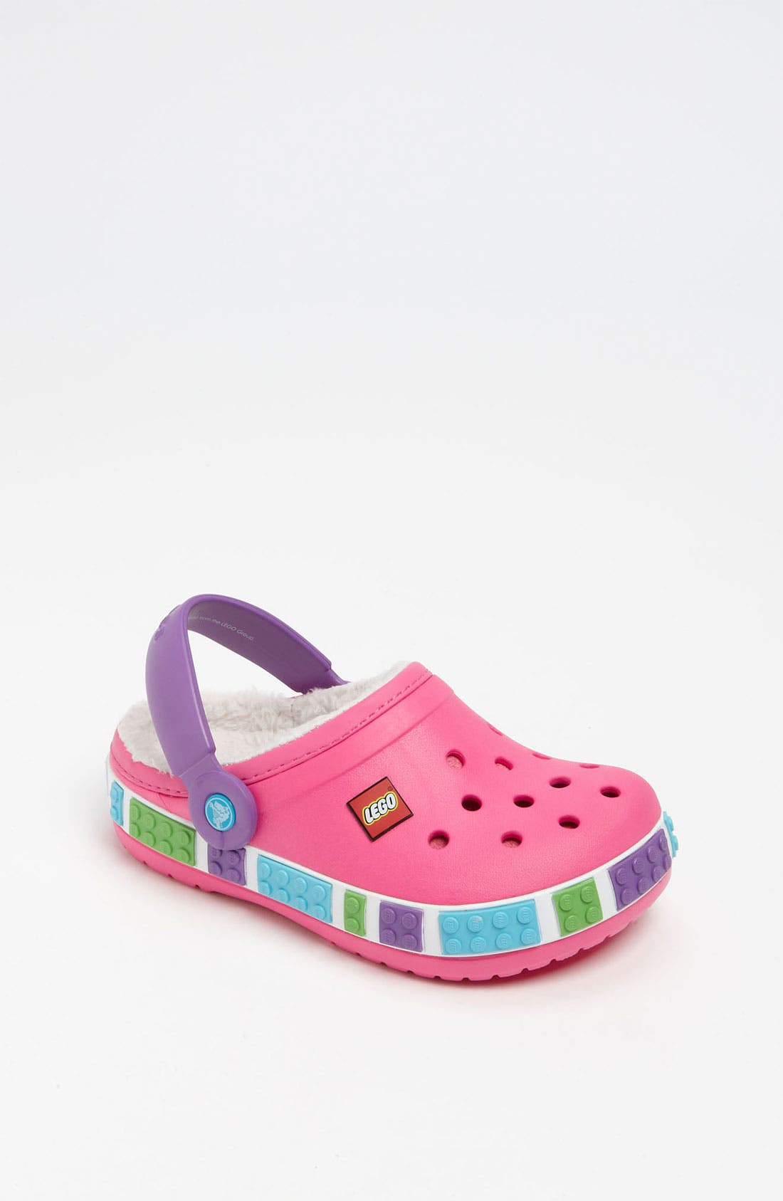 Main Image - CROCS™ 'Mammoth - LEGO®' Slip-On (Walker, Toddler & Little Kid)