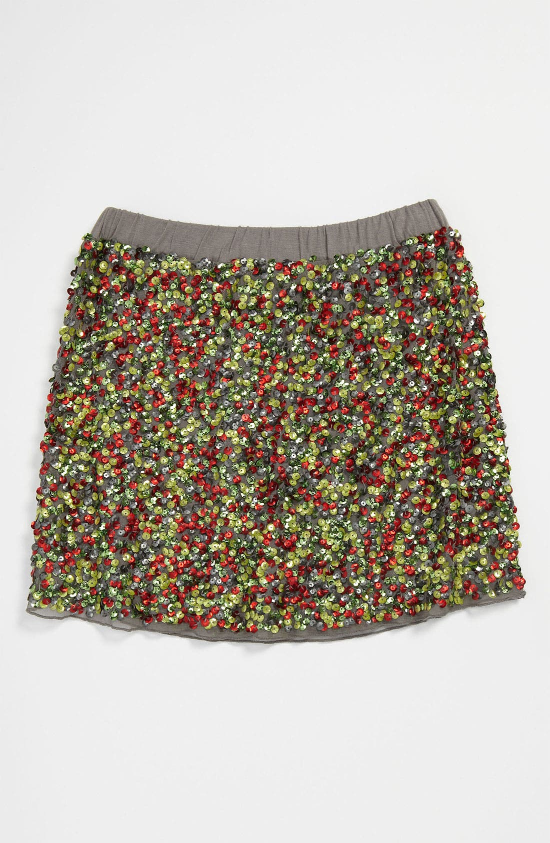 Main Image - Peek 'Zoe' Sequin Skirt (Little Girls & Big Girls)
