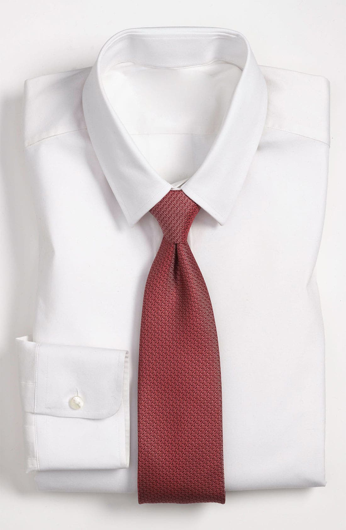 Main Image - Yves Saint Laurent Y Pattern Woven Silk Tie