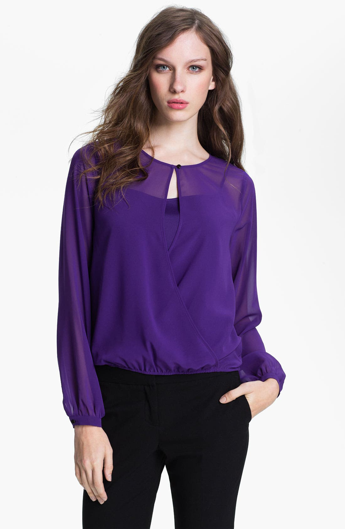Main Image - Kenneth Cole New York 'Candace' Blouse & Camisole