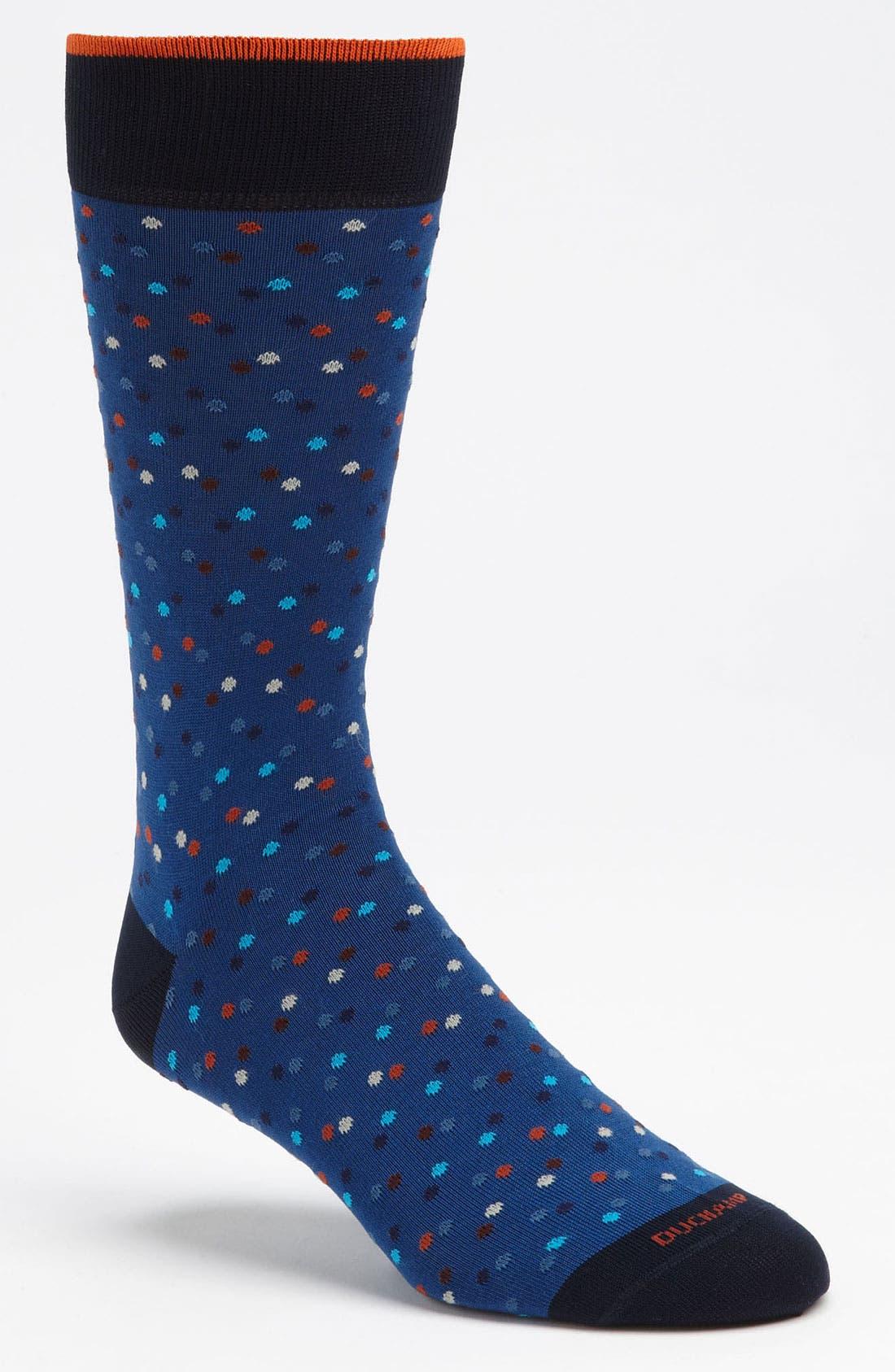 Alternate Image 1 Selected - Duchamp 'Infinity Spot' Socks