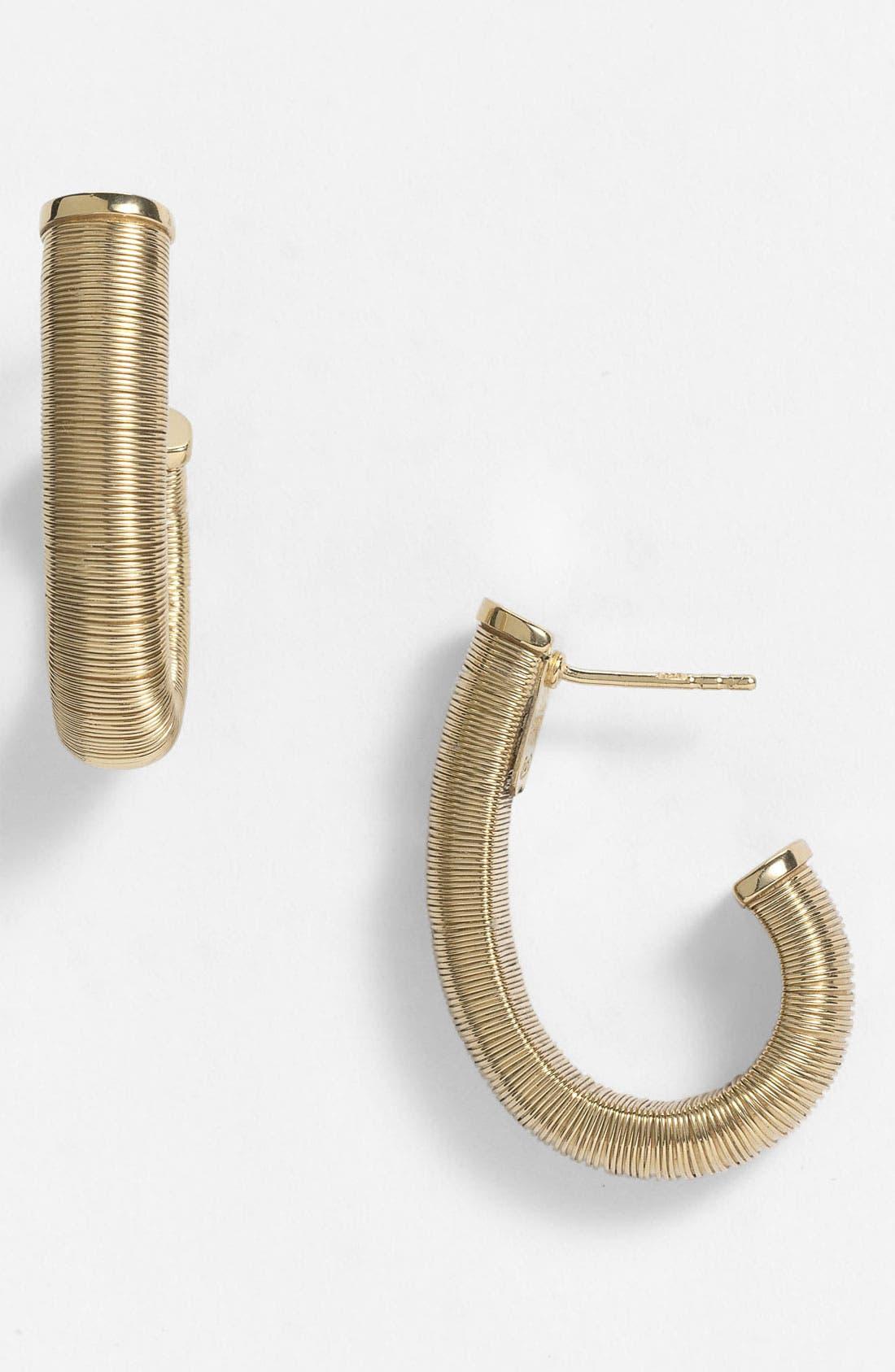Alternate Image 1 Selected - Adami & Martucci 'Seta' Hoop Earrings (Nordstrom Exclusive)