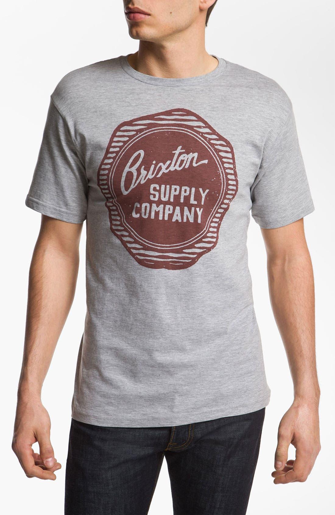 Alternate Image 1 Selected - Brixton 'Wax' T-Shirt