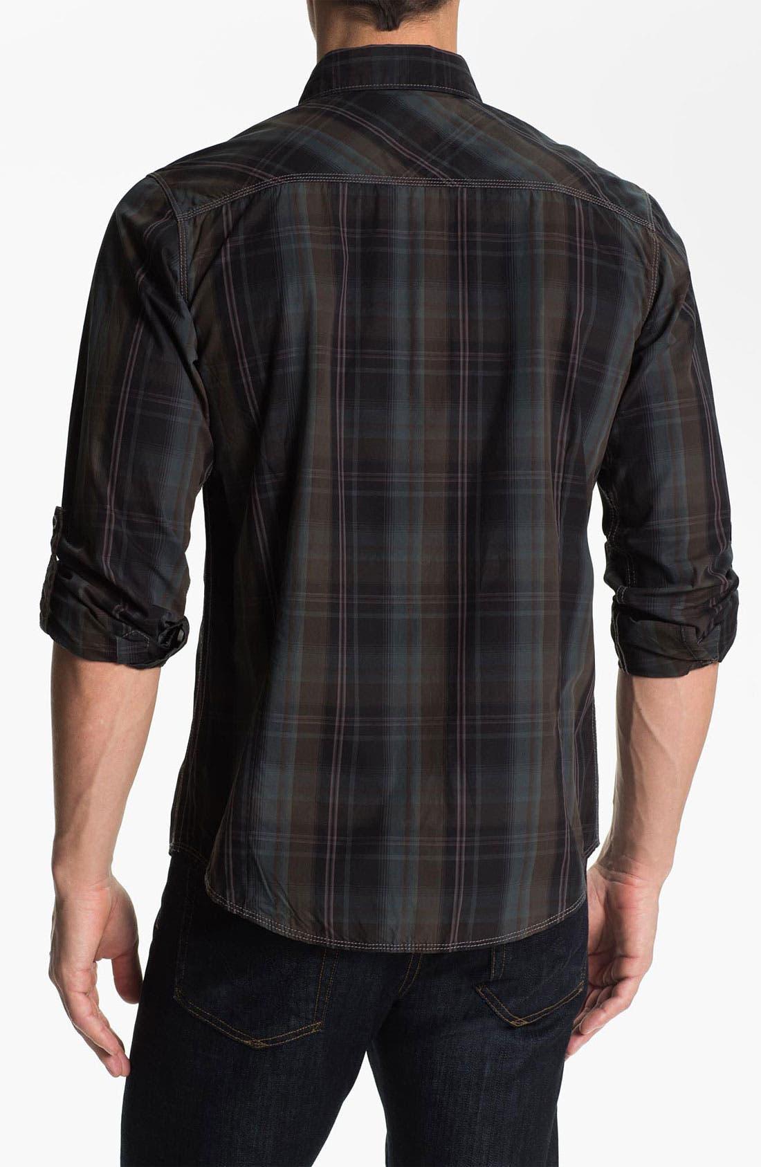 Alternate Image 2  - Jeremiah 'Astor' Poplin Sport Shirt