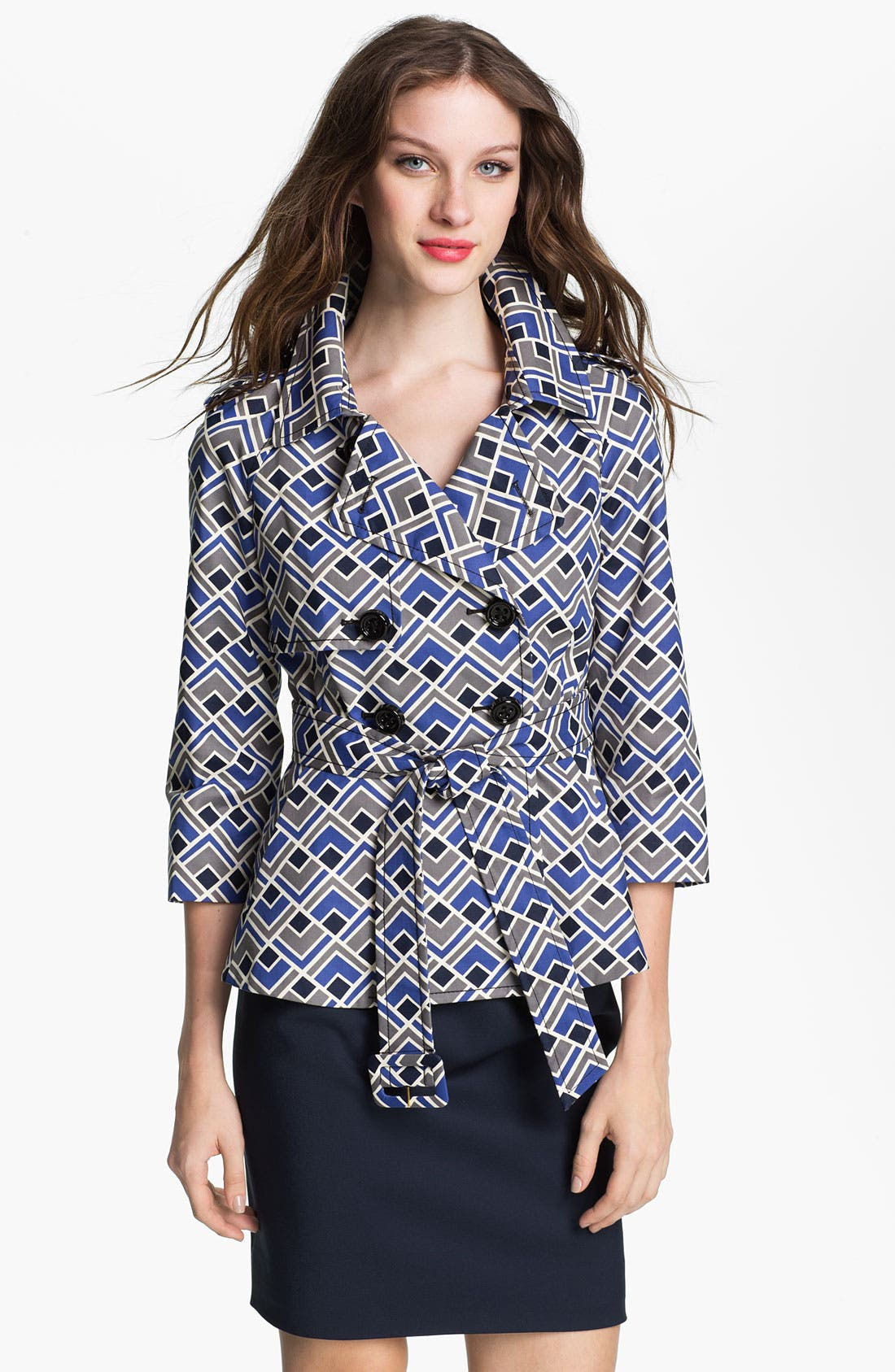 Alternate Image 1 Selected - kate spade new york 'lettie' trench coat