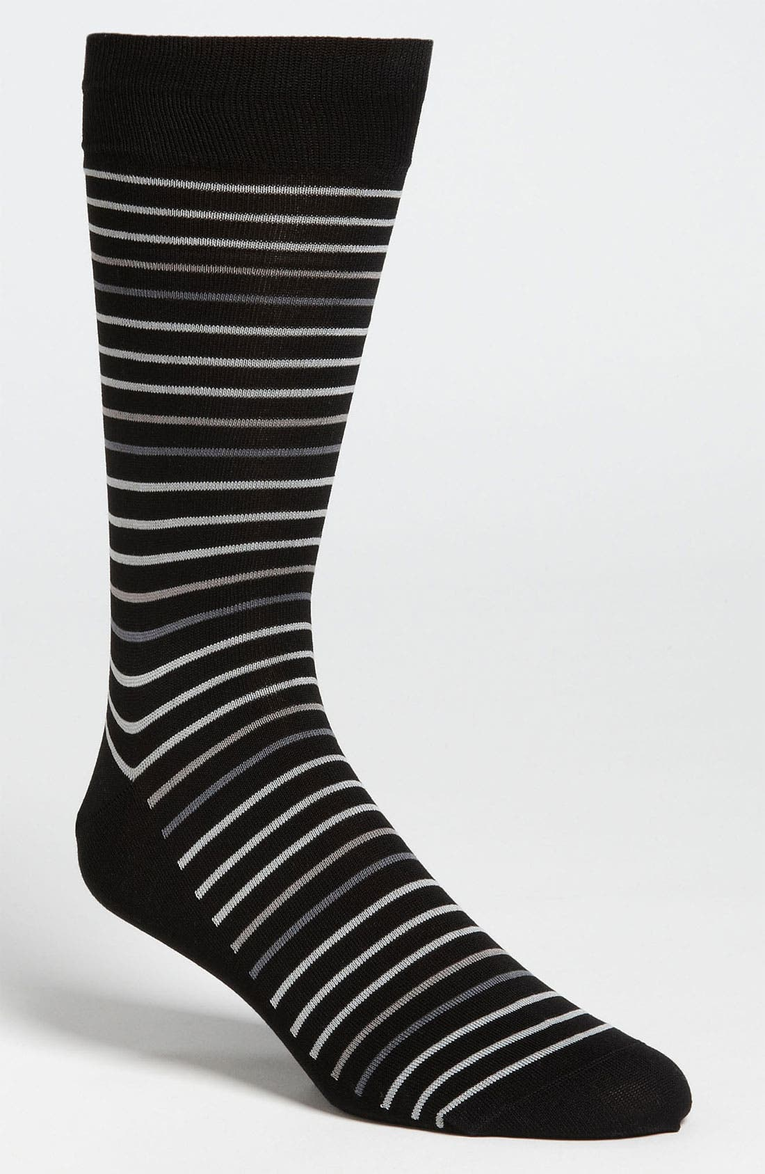 Main Image - Bugatchi Uomo Stripe Socks