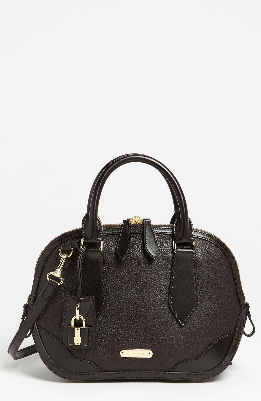 Main Image - Burberry 'London Grainy' Leather Satchel
