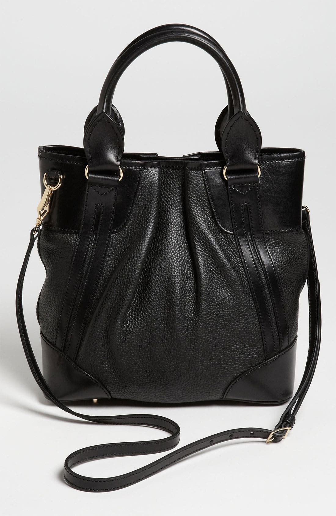 Alternate Image 4  - Burberry 'London Grainy' Leather Tote