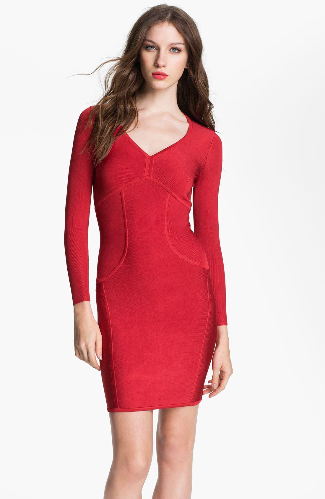 Alternate Image 1 Selected - Ted Baker London 'Aspin' Knit Sheath Dress