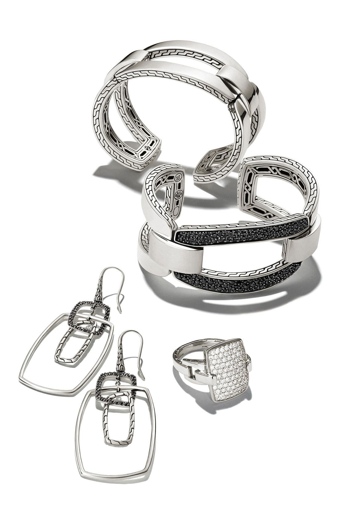 Alternate Image 3  - John Hardy 'Classic Chain' Rectangular Drop Earrings