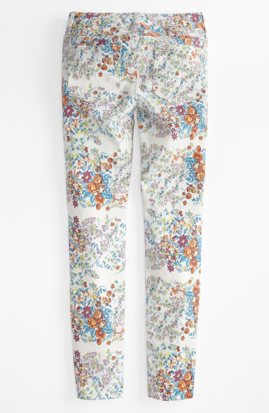 Main Image - Joe's Printed Ultra Slim Fit Denim Leggings (Big Girls)
