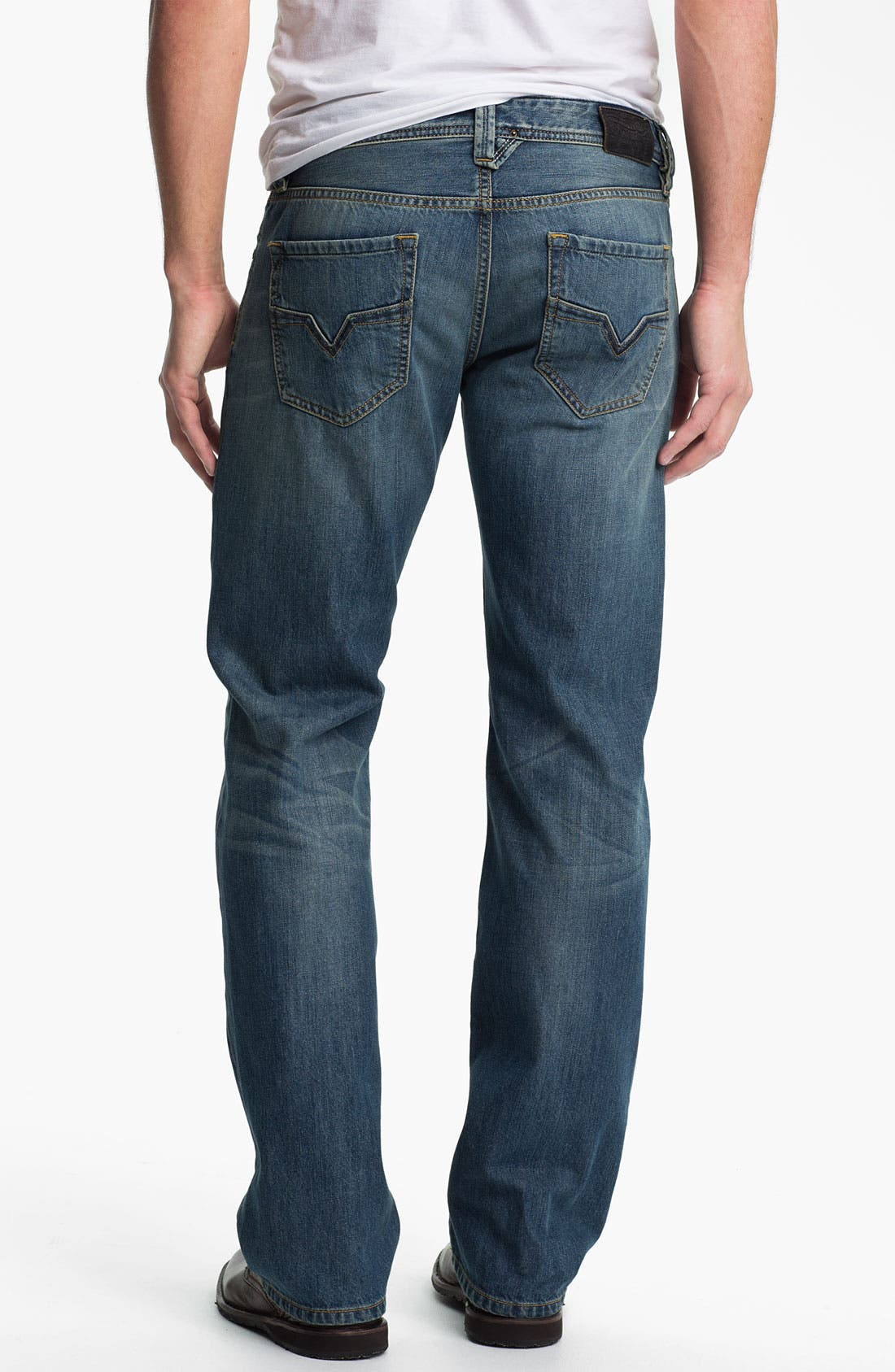 Alternate Image 1 Selected - DIESEL® 'Larkee' Straight Leg Jeans (0806S)