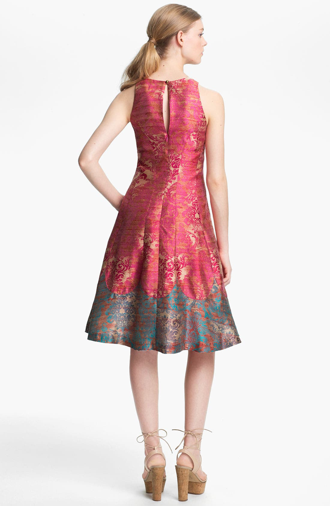 Alternate Image 2  - Tracy Reese 'Michelle' Jacquard Fit & Flare Dress