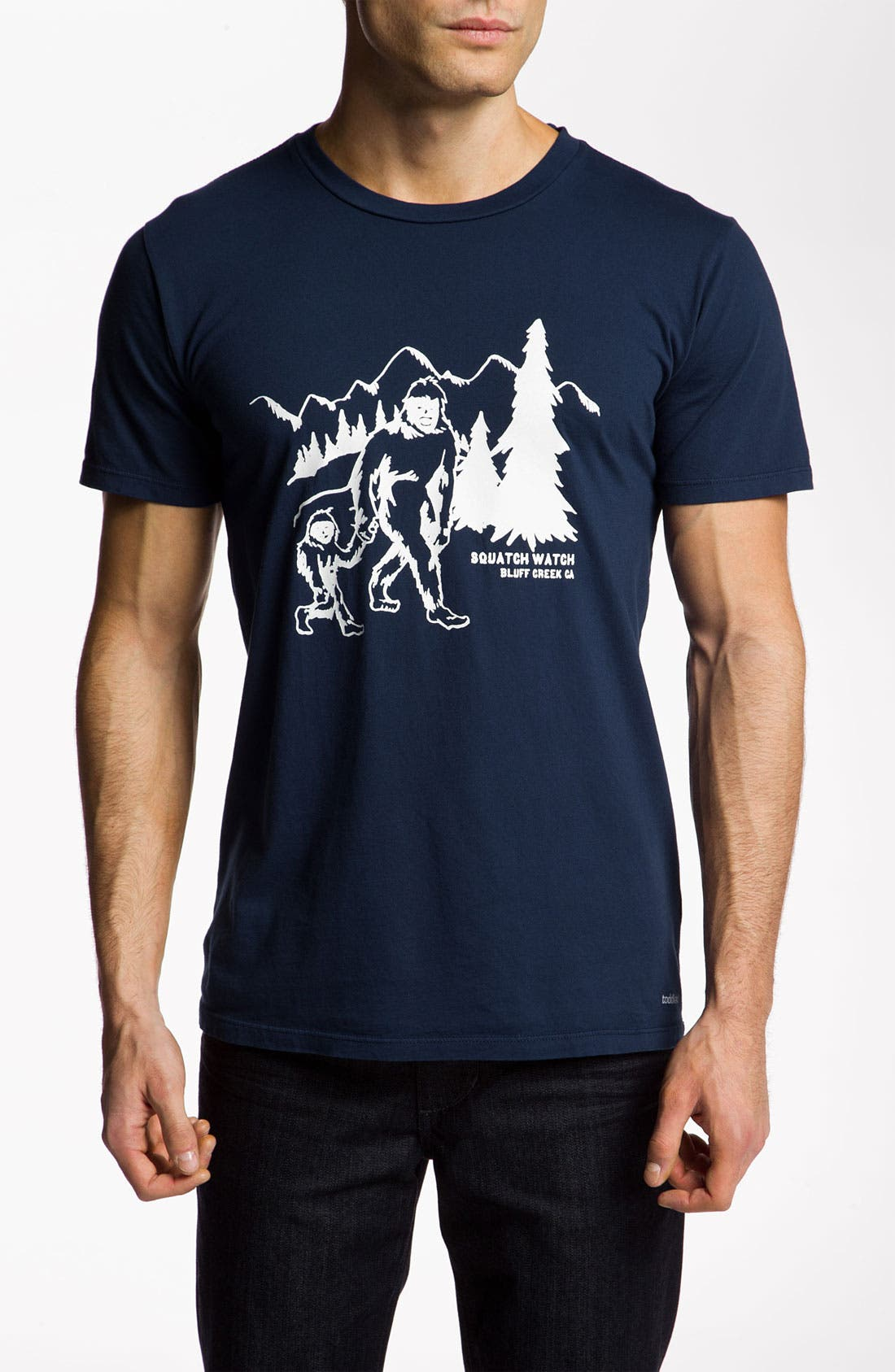 Alternate Image 1 Selected - Toddland 'Squatch Watch' T-Shirt