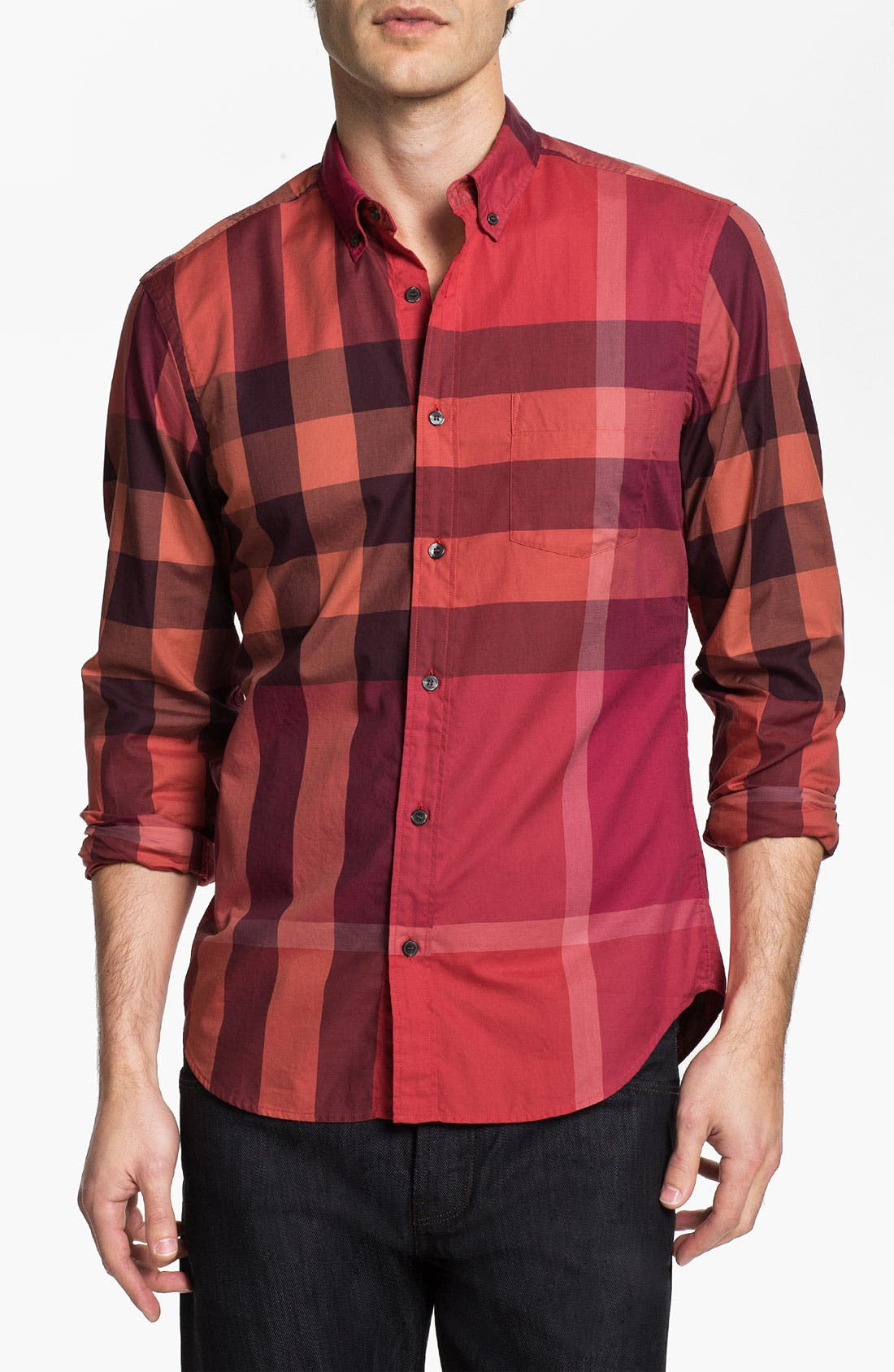 Alternate Image 1 Selected - Burberry Brit 'Fred' Sport Shirt