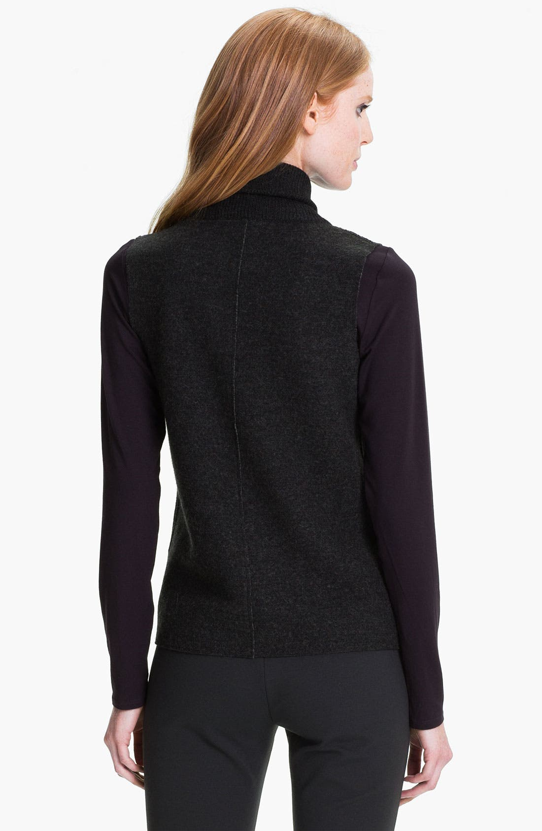 Alternate Image 2  - Eileen Fisher Felted Merino Double Knit Vest