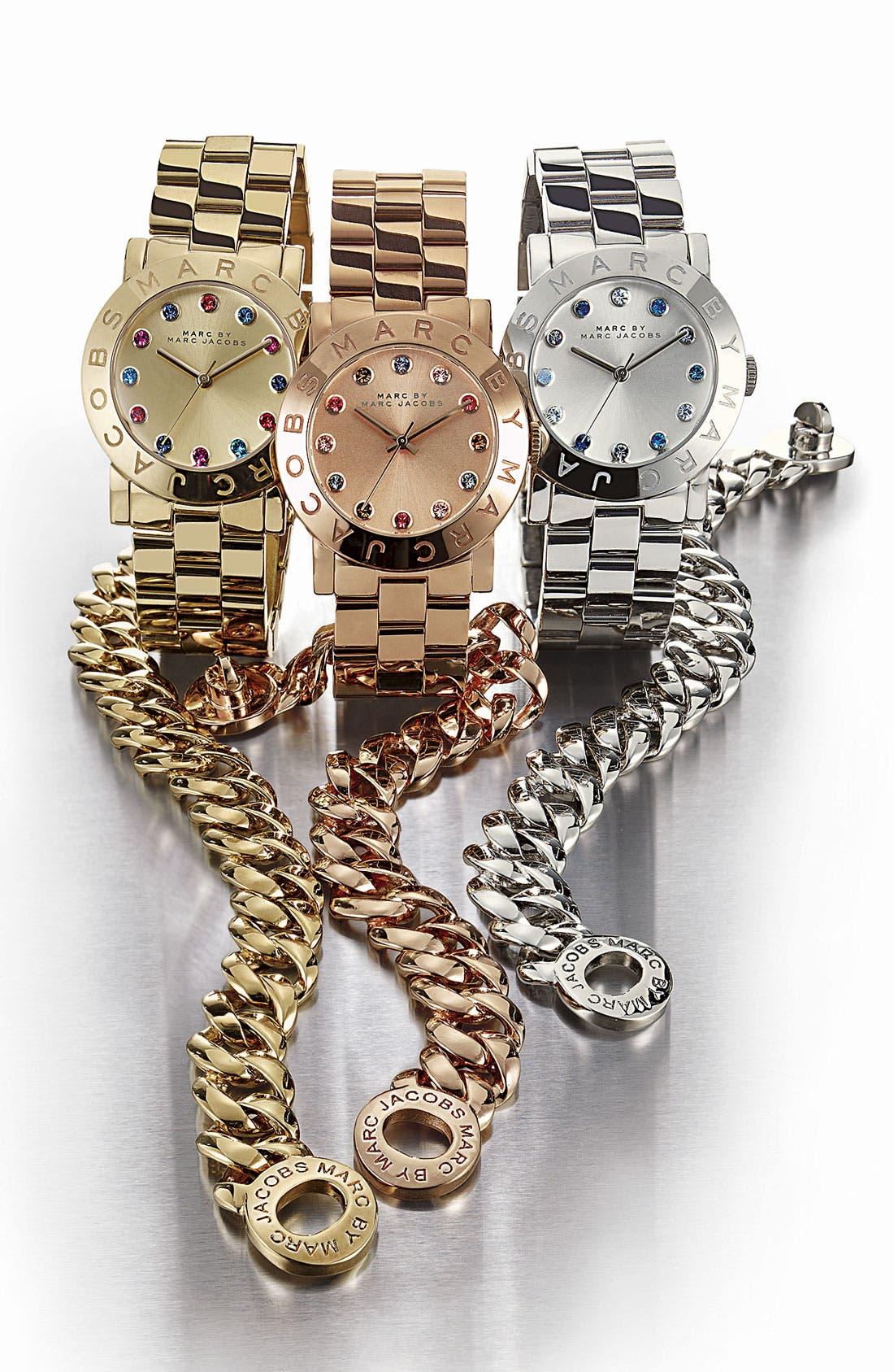 Alternate Image 2  - MARC JACOBS 'Dexter Amy' Round Bracelet Watch