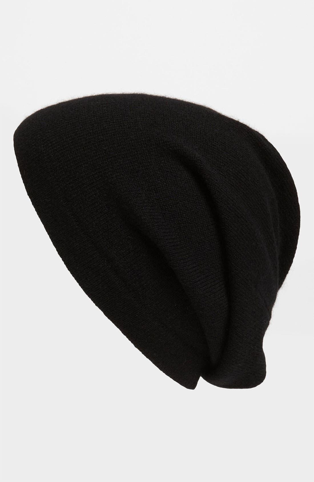 Main Image - The Rail Cashmere Knit Cap