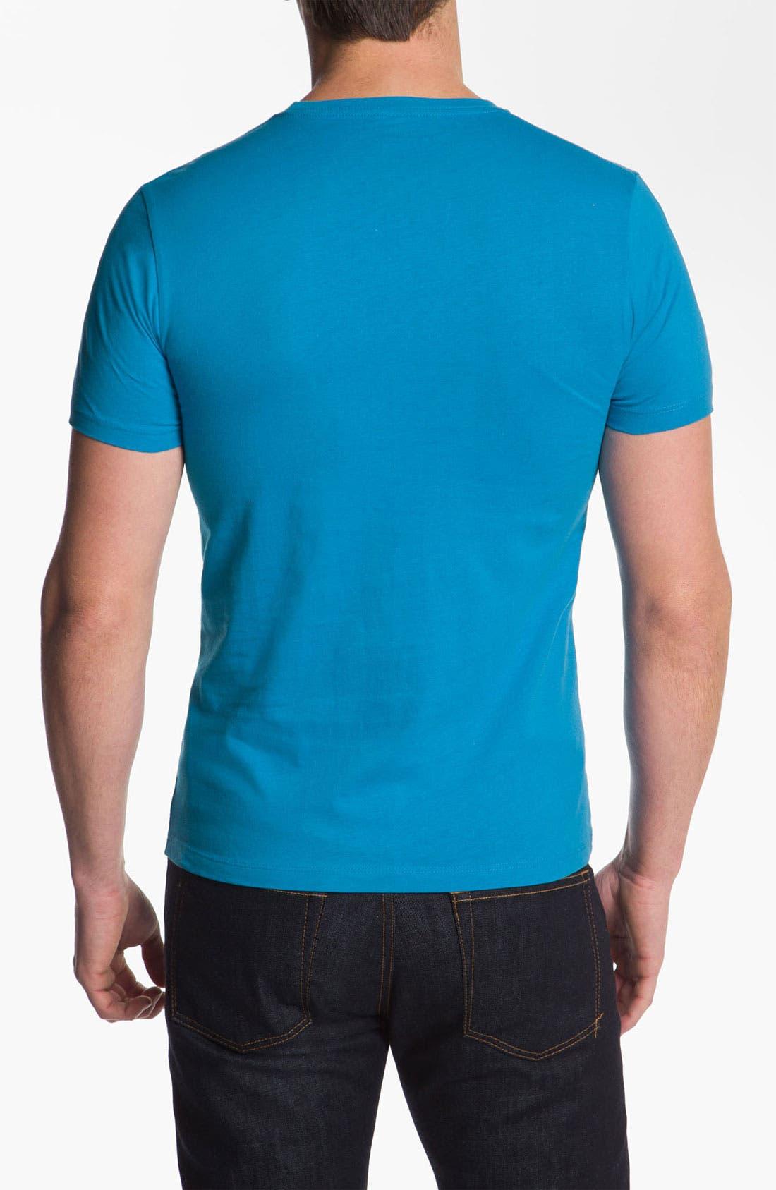 Alternate Image 2  - Topless 'Boom Box' Graphic T-Shirt