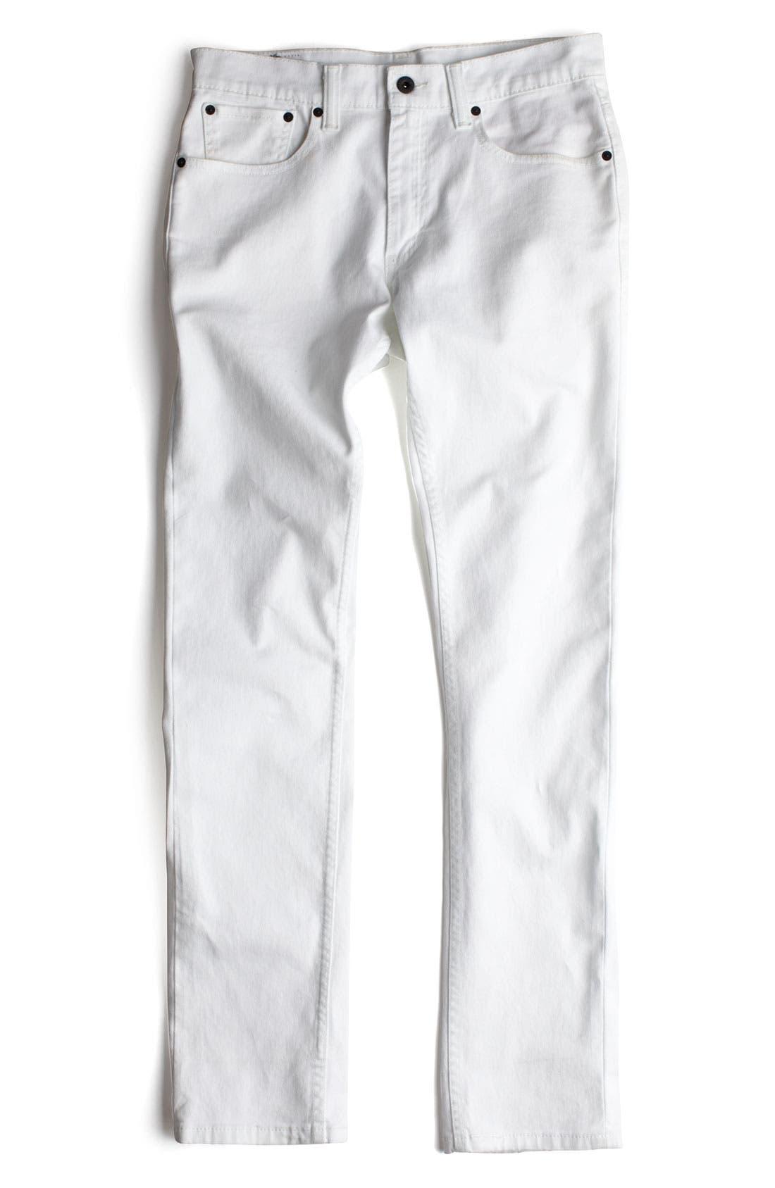 Alternate Image 5  - Levi's® '511™' Skinny Jeans (White)