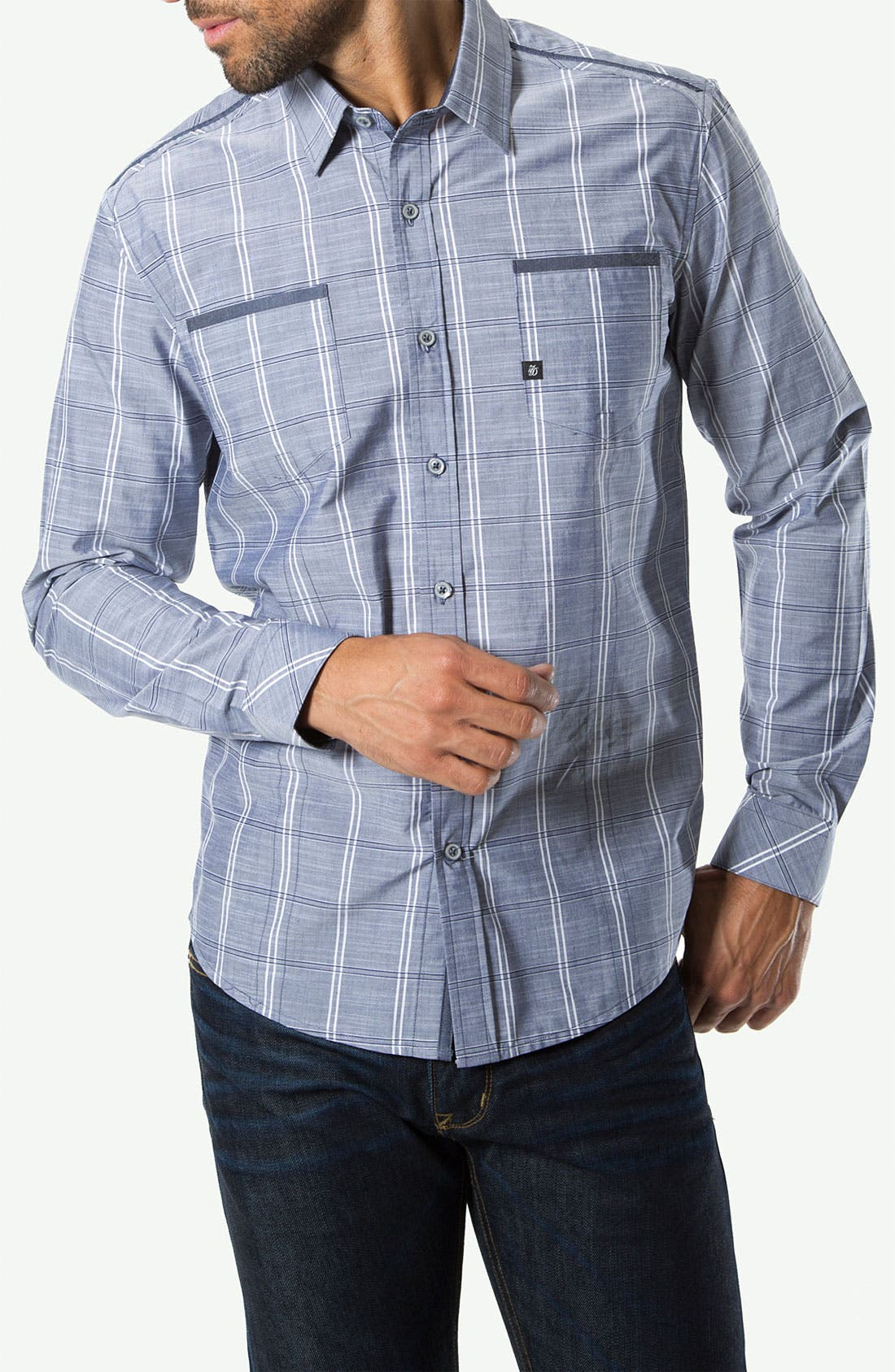 Alternate Image 1 Selected - 7 Diamonds 'Day Tripper' Woven Sport Shirt