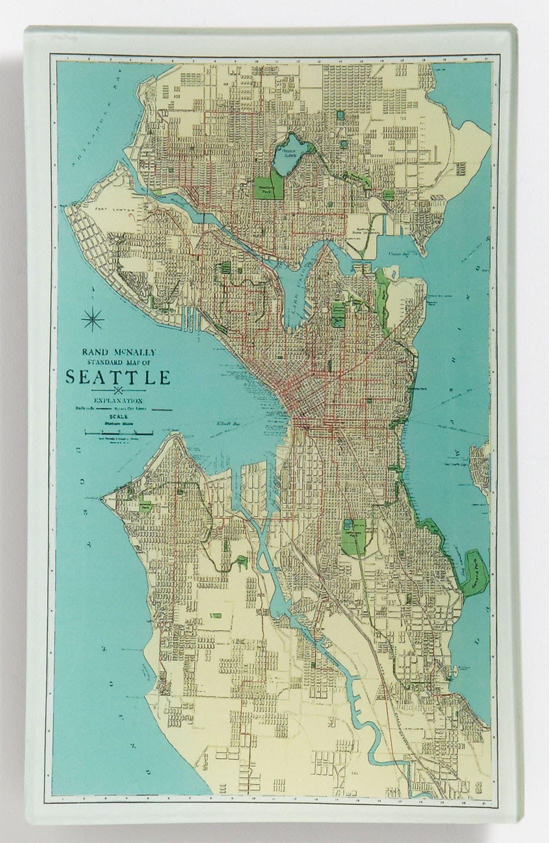 Alternate Image 1 Selected - Ben's Garden 'Vintage Seattle' Trinket Tray
