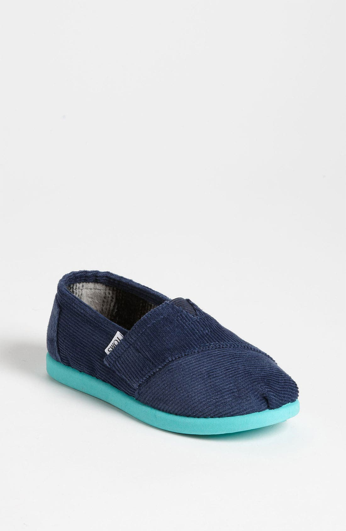Main Image - TOMS 'Classic - Tiny' Corduroy Slip-On (Baby, Walker & Toddler)