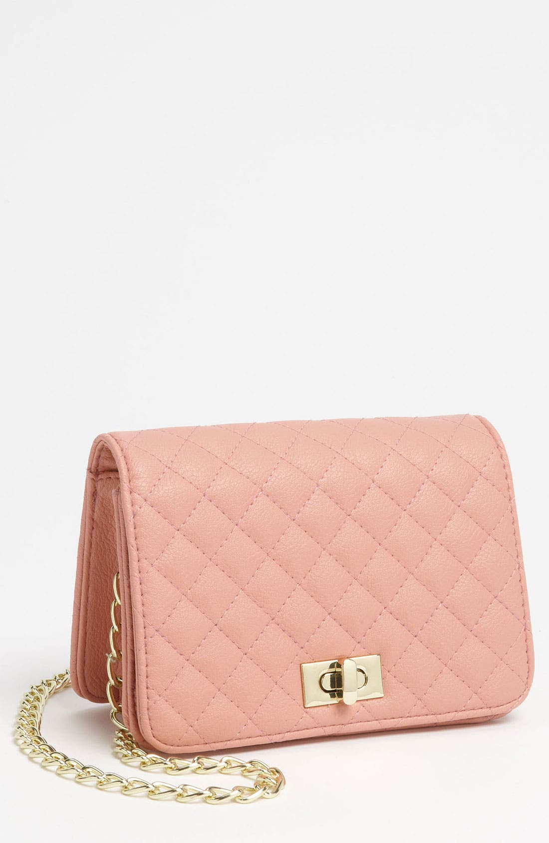 Main Image - Lulu Quilted Crossbody Bag (Juniors)