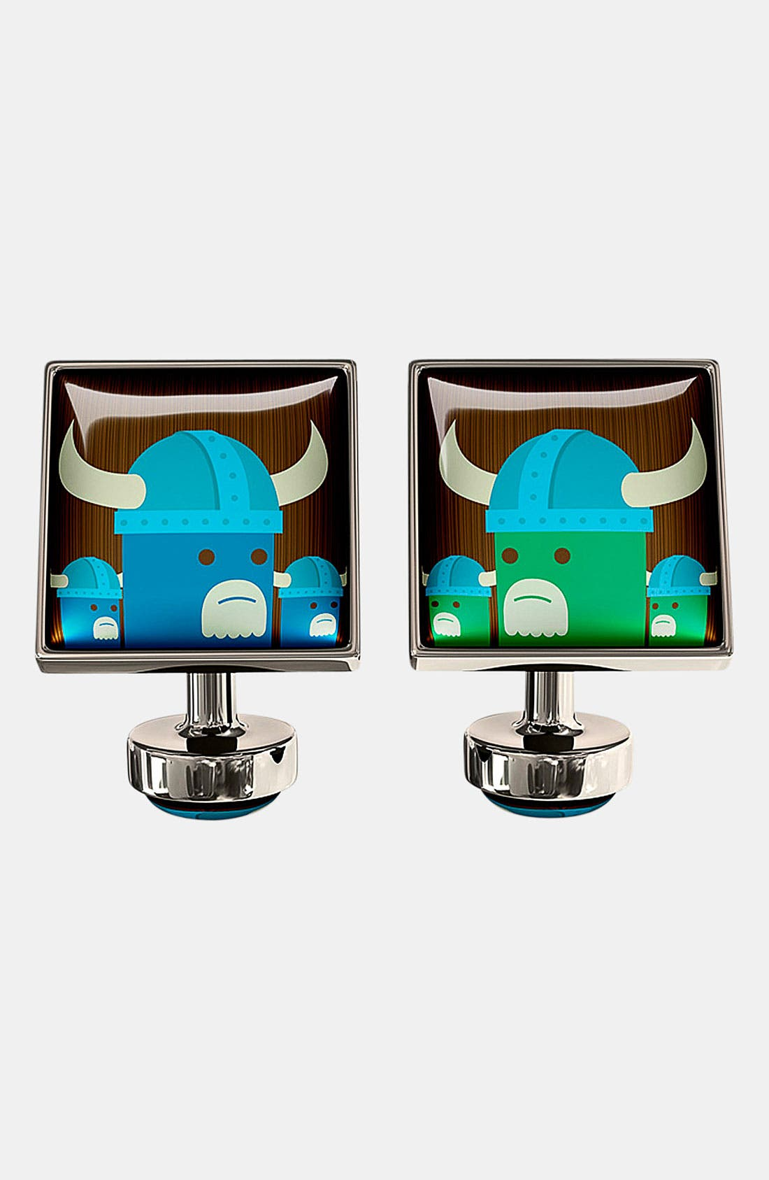 Alternate Image 1 Selected - Würkin Stiffs 'Viking Invasion' Square Cuff Links