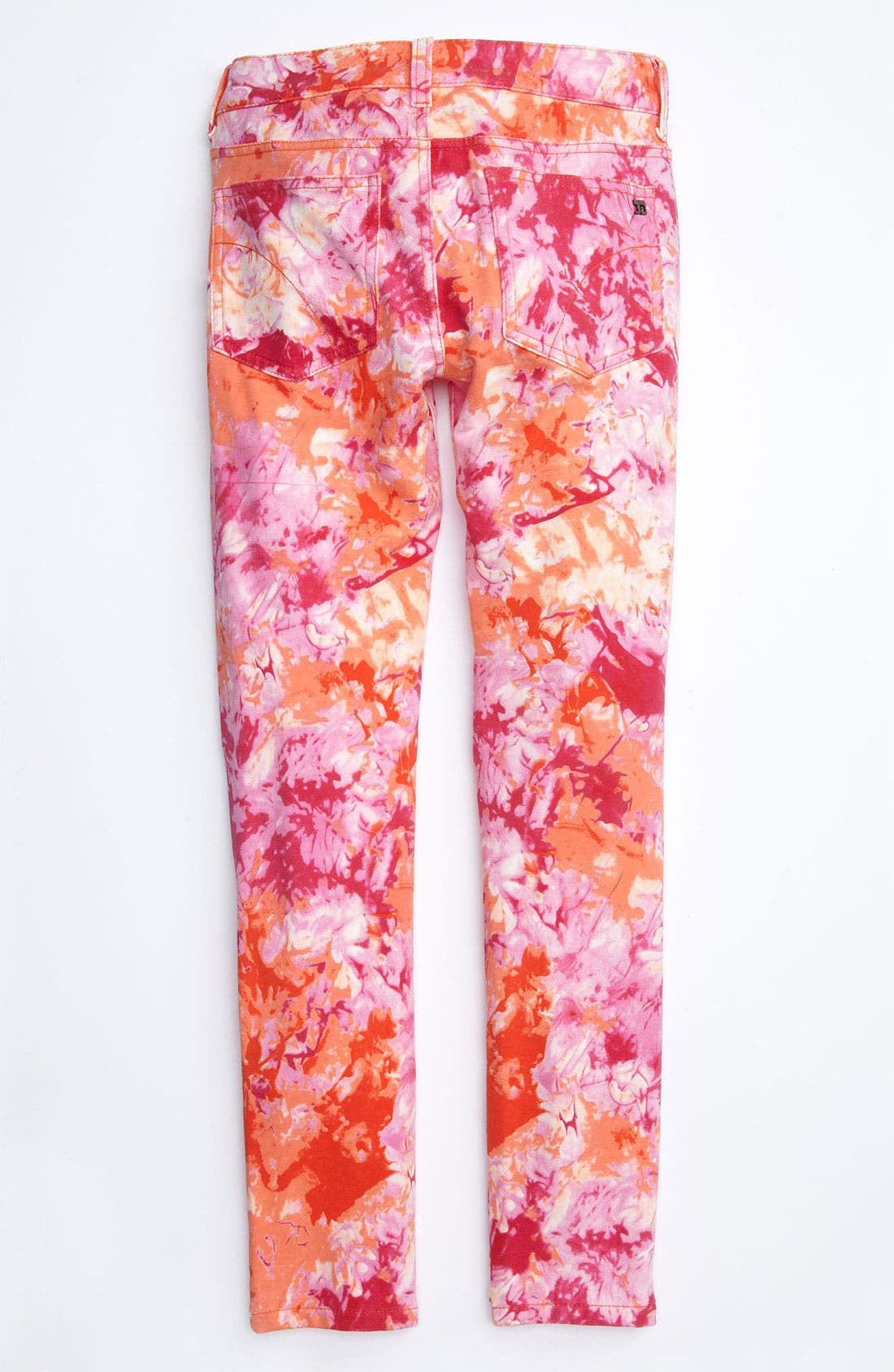 Alternate Image 1 Selected - Joe's Tie Dye Denim Leggings (Little Girls)