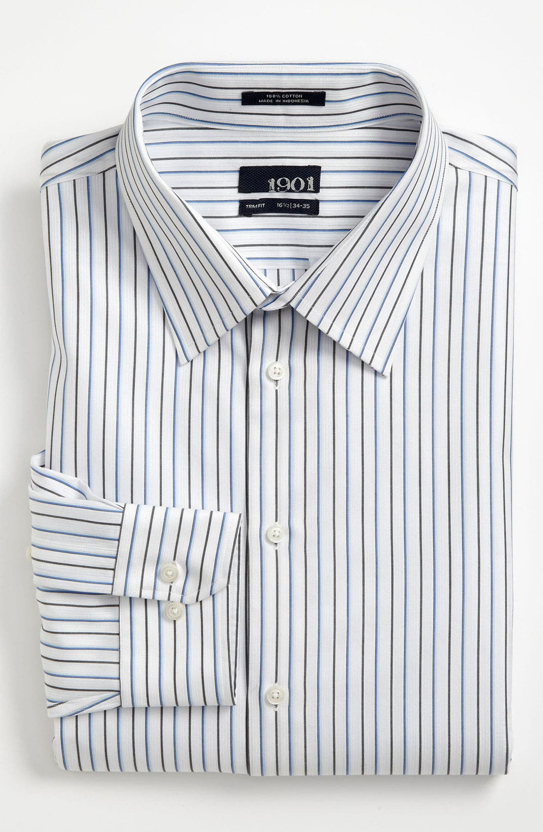 Main Image - 1901 Trim Fit Dress Shirt (Online Only)