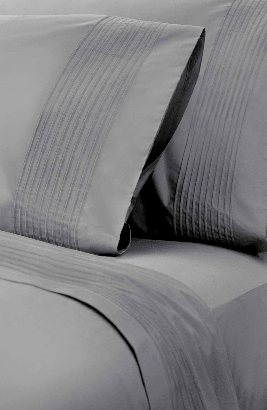 Alternate Image 2  - Donna Karan 'Modern Classics - The Tailored Pleat' 400 Thread Count Pillowcase (Online Only)