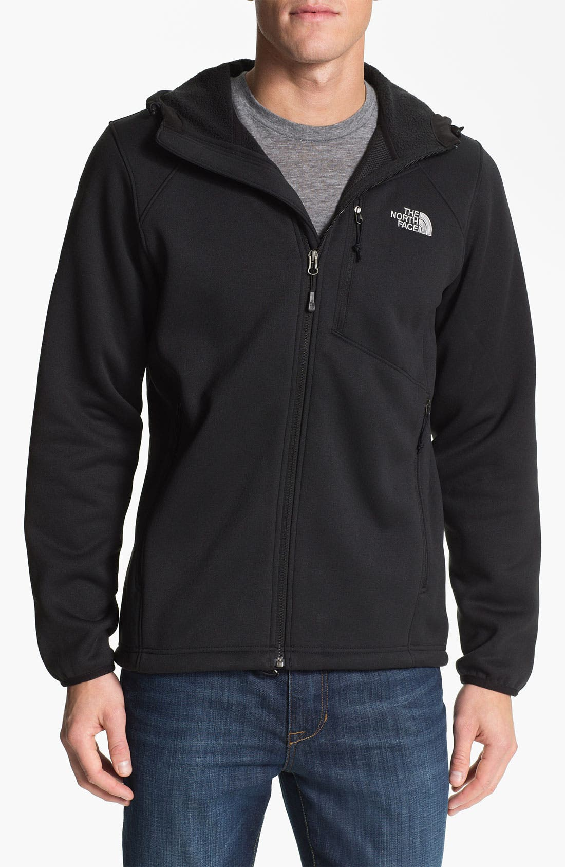 Alternate Image 1 Selected - The North Face 'Cucamonga' Fleece Jacket