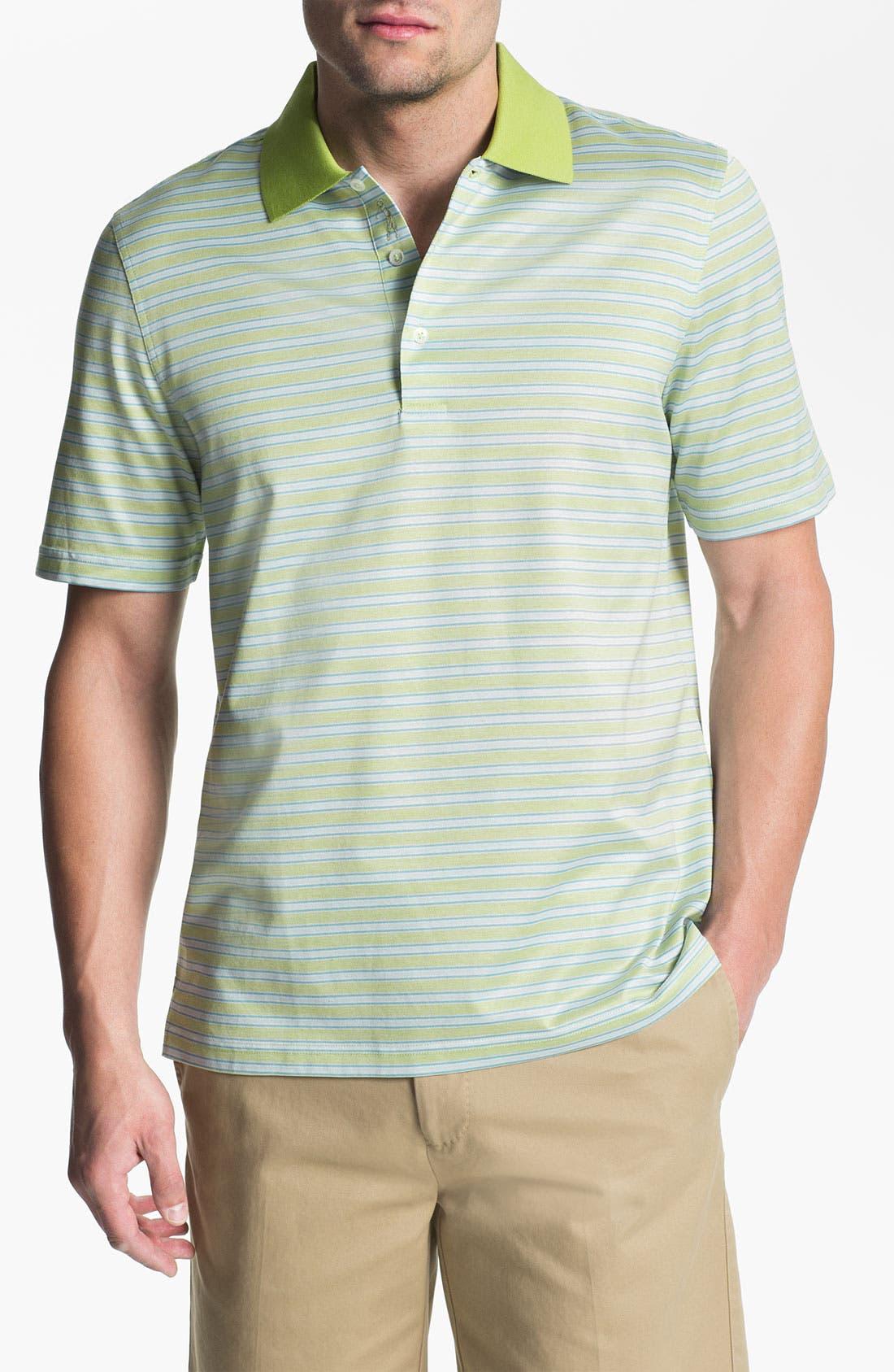 Alternate Image 1 Selected - Bobby Jones 'Birdseye' Golf Polo