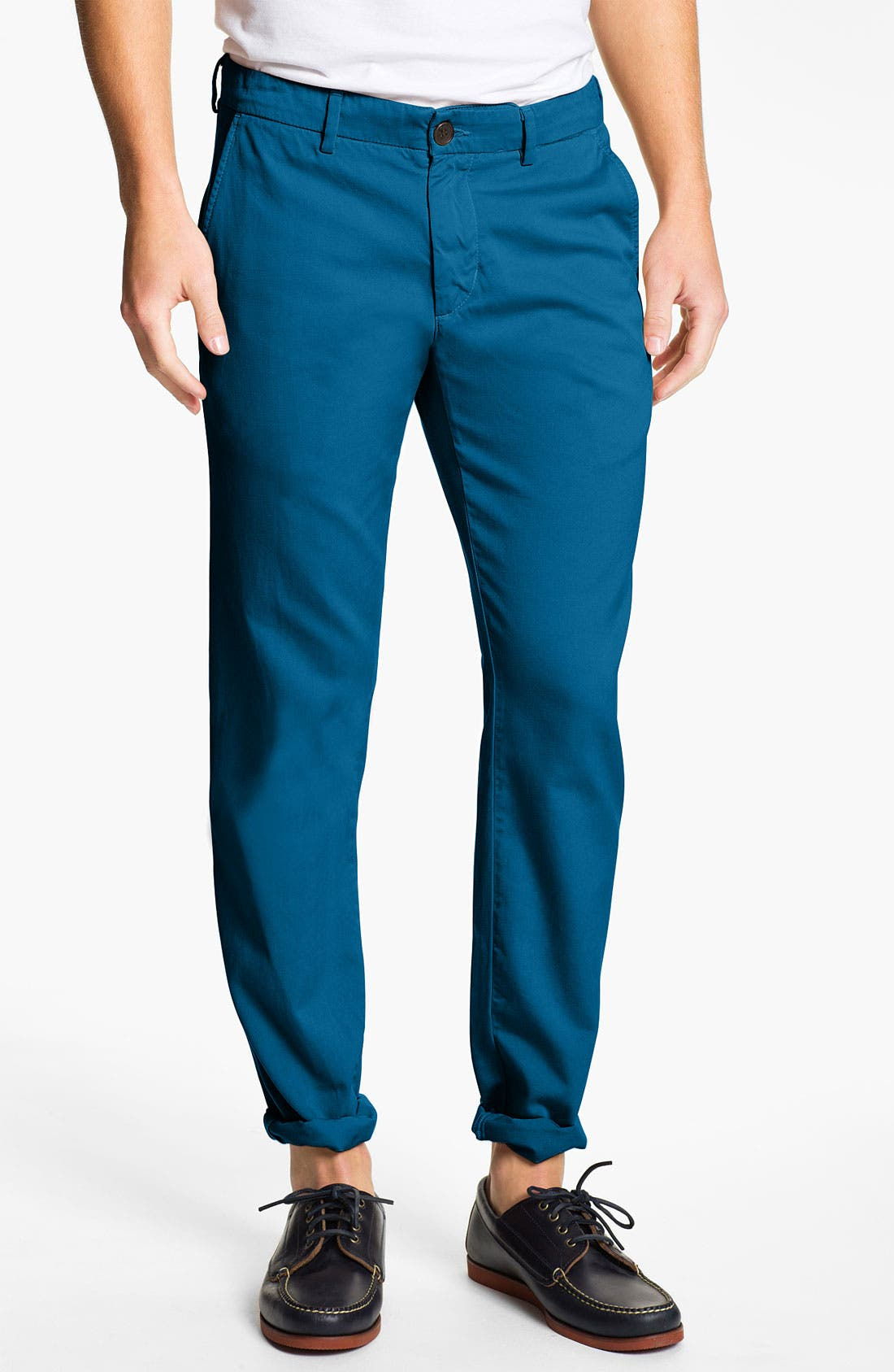 Alternate Image 1 Selected - Vince Slim Straight Leg Chinos