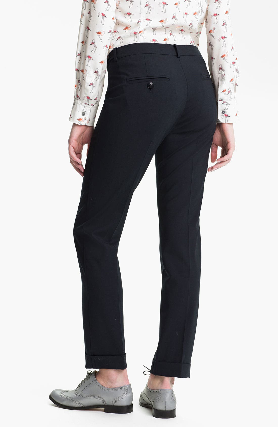 Alternate Image 2  - Weekend Max Mara 'Oscuro' Stretch Wool Pants