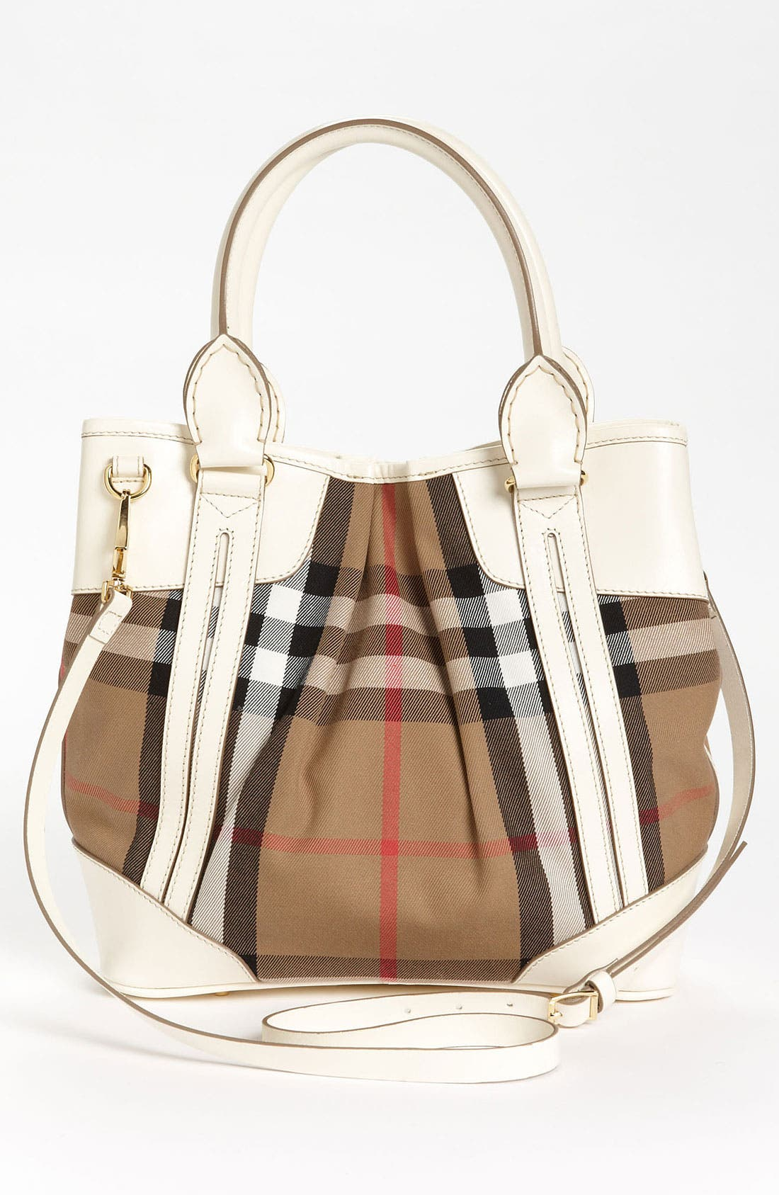 Alternate Image 4  - Burberry 'House Check - Small' Tote
