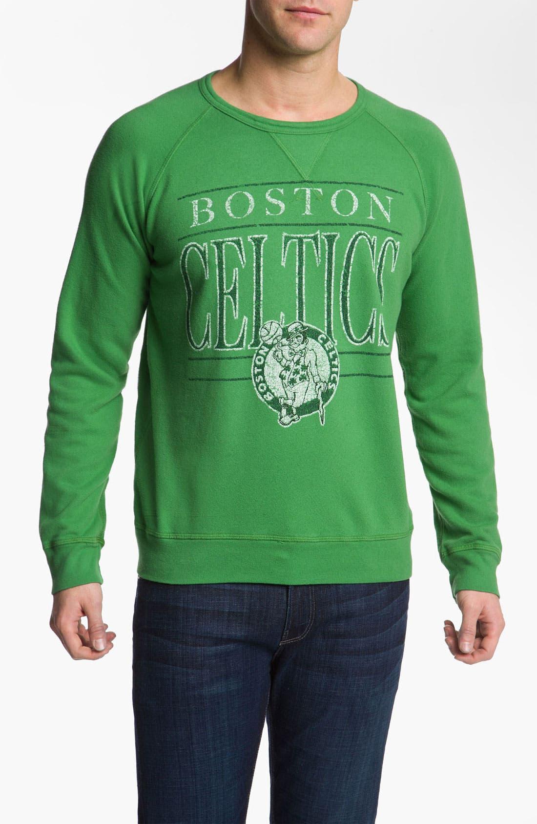 Alternate Image 1 Selected - Junk Food 'Boston Celtics' Sweatshirt