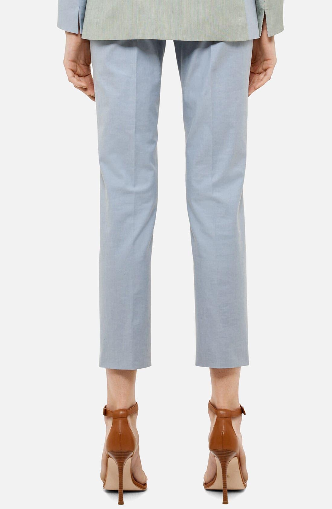 Alternate Image 2  - Akris punto 'Franca' Straight Leg Crop Pants