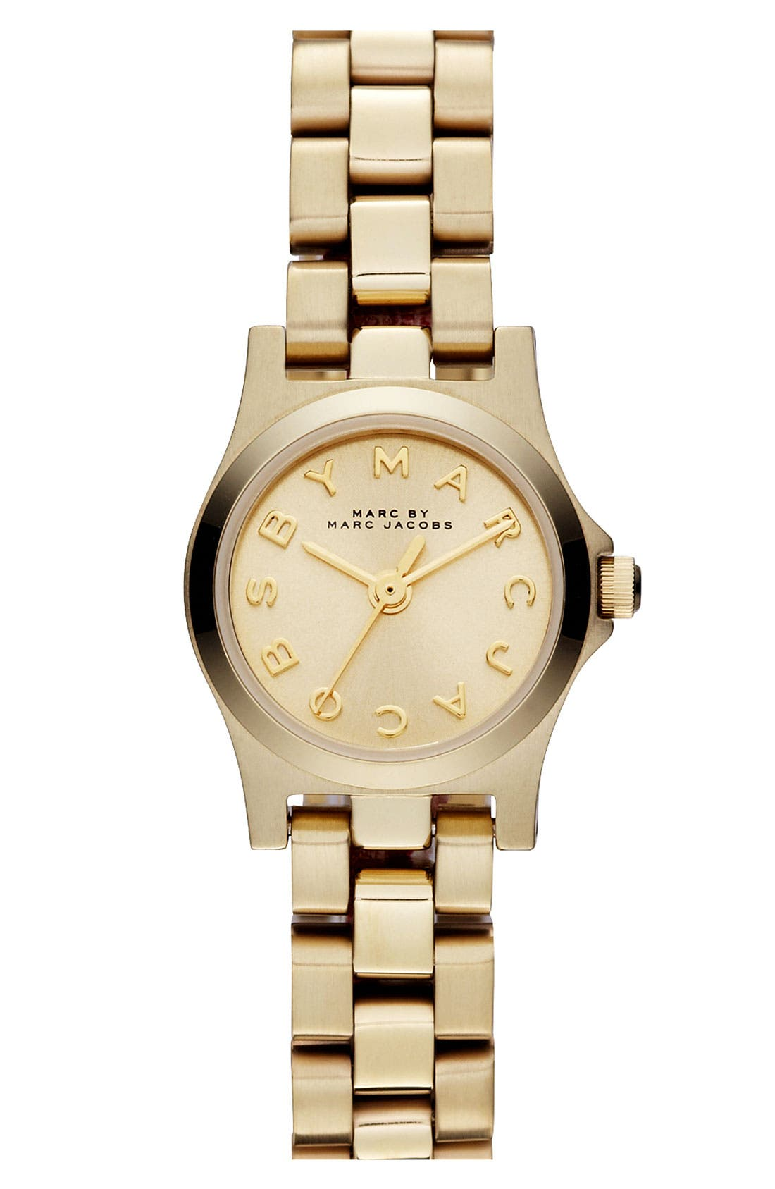 'Henry Dinky' Bracelet Watch, 20mm,                             Main thumbnail 1, color,                             Gold