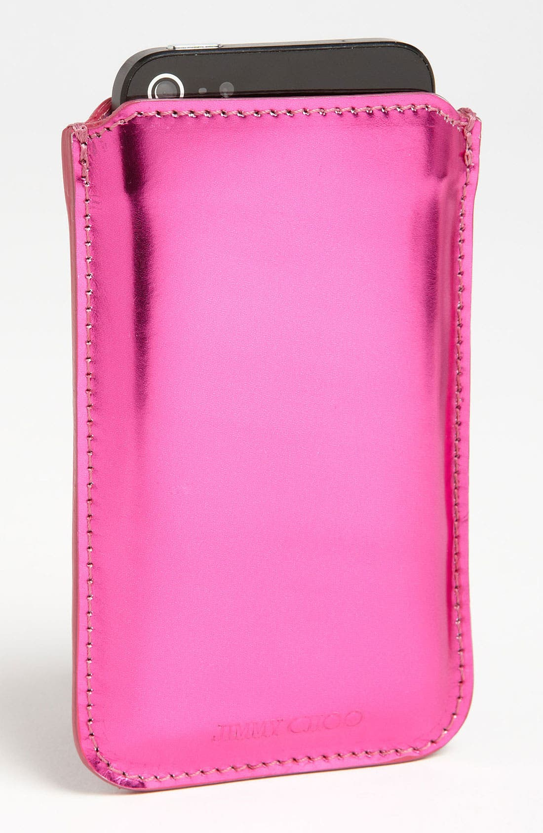 Alternate Image 2  - Jimmy Choo 'Trent - Mirror' iPhone Case