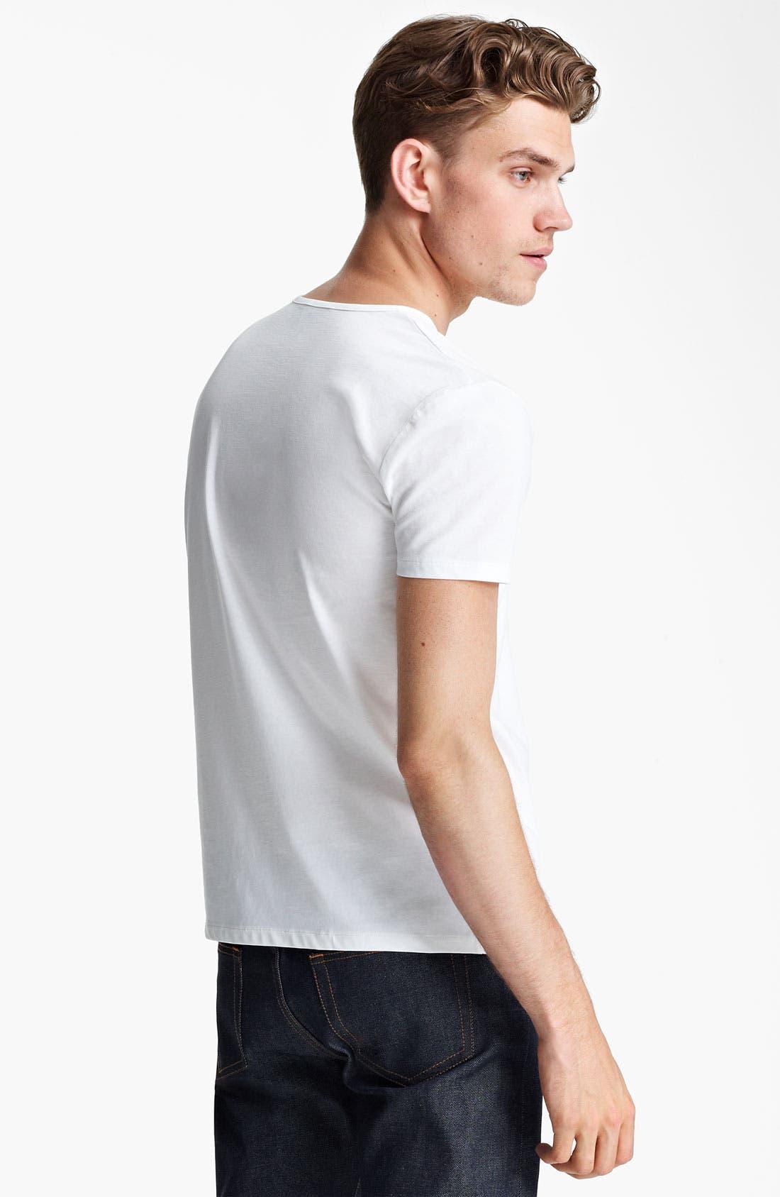 Alternate Image 2  - A.P.C. Henley T-Shirt